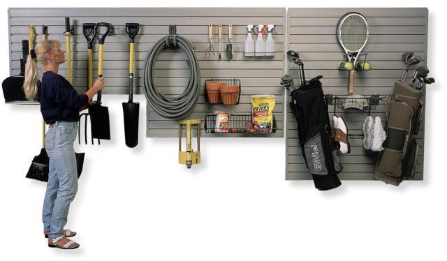 StoreWall garage Storage slatwall